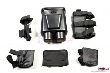 Interior Storage Kit, Black : 07-10 Jeep Wrangler JK