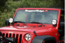 Decal Rugged Ridge Windshield Banner 30X3