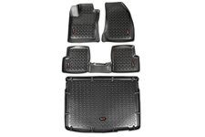 All Terrain Floor Liner Set, Black : 14-18 Jeep Renegade BU