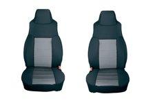 Neoprene Front Seat Covers, Gray : 03-06 Jeep Wrangler TJ