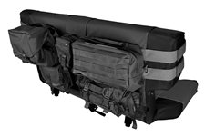 Rear Cargo Seat Cover, Black : 76-06 Jeep CJ/Wrangler YJ/TJ