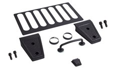 Hood Dress Up Kit, Textured Black : 07-12 Jeep Wrangler JK