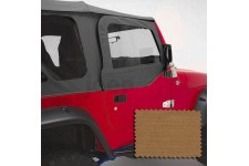 Upper Soft Door Kit, Spice : 97-06 Jeep Wrangler TJ