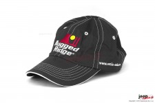 Hat, Rugged Ridge, Black and White, Omix-ADA.com