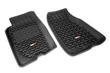 Floor Liners, Front, Black : 93-98 Jeep Grand Cherokee ZJ