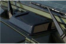 Cowl Vent Scoop, Smoke, 98-15 Jeep Wrangler