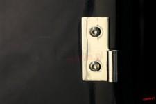 Lower Door Hinges, Stainless Steel : 76-06 Jeep CJ/Wrangler YJ/TJ