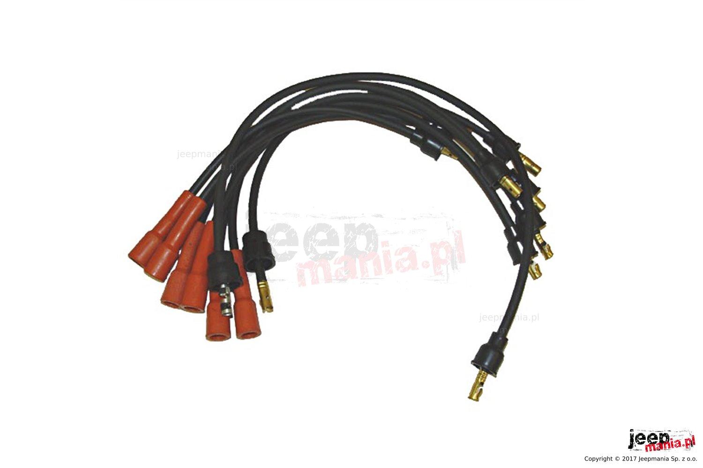 Ignition Wire Set, 4.2L : 78-90 Jeep CJ/Wrangler YJ