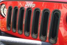 Grille Inserts, Black : 07-17 Jeep Wrangler JK