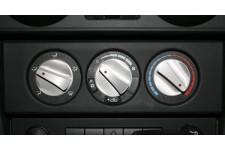 Aluminum Climate Control Knob Set, Red, 07-10 Jeep Wrangler (JK)