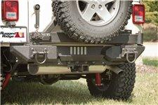 Aluminum Rear Bumper Pods : 07-17 Jeep Wrangler JK