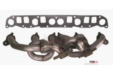 Exhaust Header, Stainless Steel : 99-06 Jeep XJ/ZJ/TJ, 4.0L