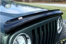 Bug Deflector, Smoke : 87-06 Jeep Wrangler YJ/TJ