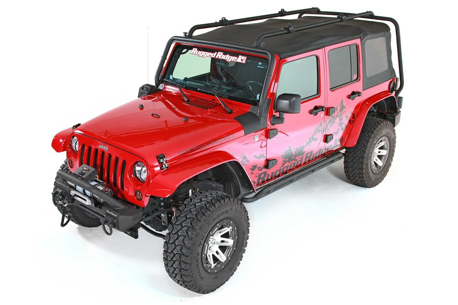 Sherpa Roof Rack, 07-15 Jeep Wrangler Unlimited (JK)