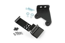 CB Radio and Antenna Mount Kit : 07-17 Jeep Wrangler JK
