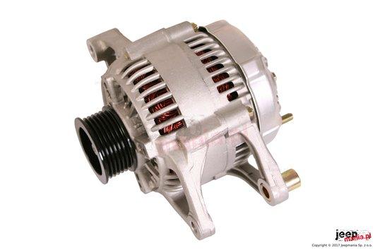 Alternator, 117 Amp, 5.7L/6.1L : 01-06 Jeep Wrangler TJ