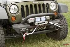 XHD Aluminum Front Bumper, Winch Mount : 07-17 Jeep Wrangler JK