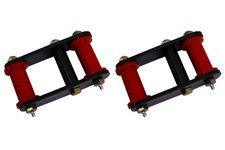 HD Front and Rear Leaf Spring Shackles : 55-75 Jeep CJ Models