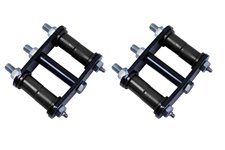 HD Rear Leaf Spring Shackles : 76-86 Jeep CJ Models