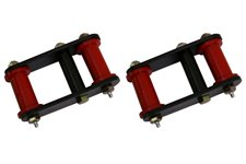 HD Front Leaf Spring Shackles, 1 Inch Lift : 87-95 Jeep Wrangler YJ