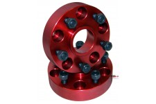 Wheel Spacers, 1.25 Inch : 84-06 Jeep Cherokee/Wrangler XJ/YJ/TJ