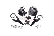 Unit Bearing and Outer Axle Shaft Kit, 30 Spline : 84-06 Jeep XJ/YJ/TJ