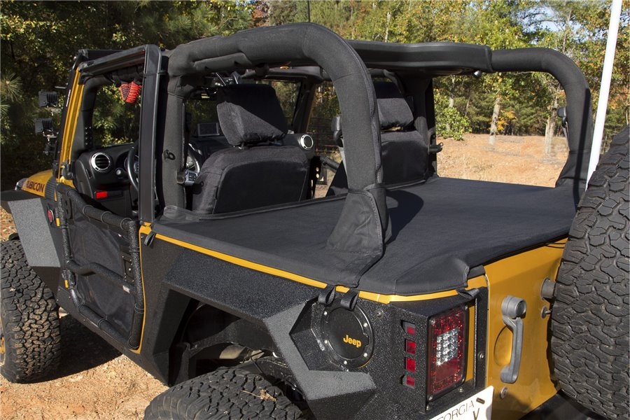 Tonneau Cover : 07-18 Jeep Wrangler JK, 2 Door