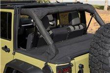 Tonneau Cover : 07-18 Jeep Wrangler JKU, 4 Door