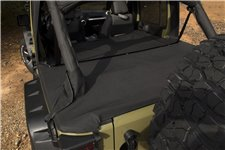 Tonneau Cover, Extension : 07-18 Jeep JKU, 4 Door