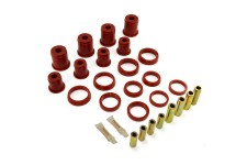 Front Control Arm Bushing Kit, Red : 84-01 Jeep Cherokee XJ