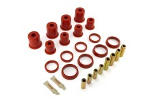 Rear Control Arm Bushing Kit, Red : 93-98 Jeep Grand Cherokee ZJ
