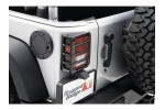 Non-Locking Gas Cap Door, Black : 07-17 Jeep Wrangler JK