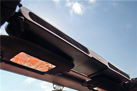 Overhead Storage Console : 87-18 Jeep Wrangler YJ/TJ/JK