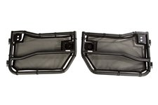 Tube Doors Kit, Front, Eclipse Covers : 07-18 Wrangler JK/JKU