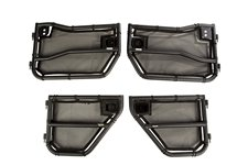 Tube Door with Eclipse Cover Kit, Front and Rear : 07-18 Wrangler JKU