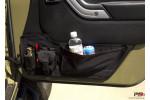Door Storage Panel, Pair, With Pouches : 11-18 Jeep Wrangler JK/JKU