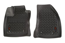 Front Floor Liner Set, Black : 18 Jeep Compass MK