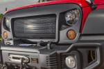 Spartan Grille, 07-15 Jeep Wrangler JK