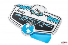 Arctic Badge for Jeep Vehicles