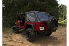 Montana Top, Bowless, Black Diamond : 04-06 Jeep Wrangler LJ