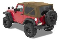 Supertop® NX Twill, Oak Tan : 07-18 Jeep Wrangler JK 2 Door