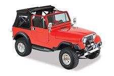 Sunrider™, Black : 76-95 Jeep CJ-7 & Wrangler YJ