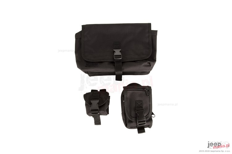 Storage Bag System, MOLLE : 18-18 Jeep Wrangler JL/JLU Rubicon