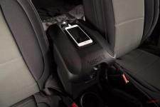 Cover, Center Console, W/Phone Holder, Black : 11-18 Jeep Wrangler JK