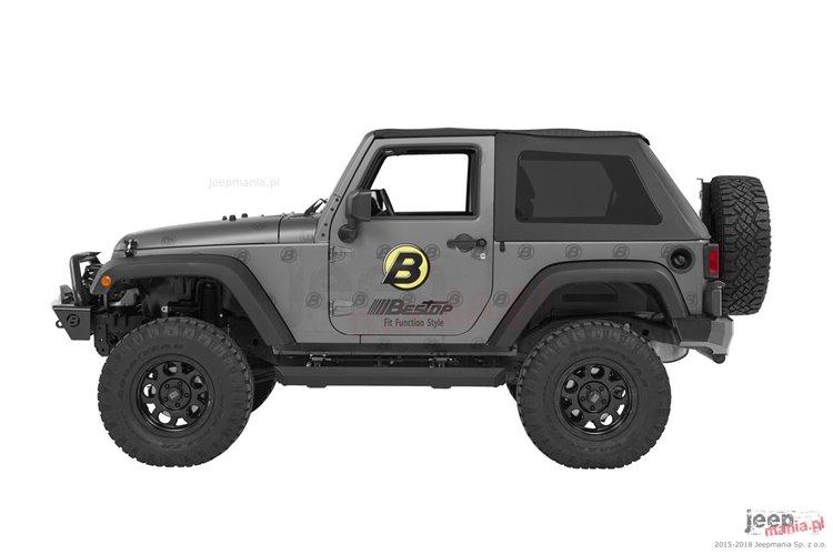PowerBoard® NX Wireless Sidesteps : 07-18 Jeep Wrangler Unlimited JK