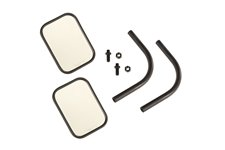 Trail Mirror Kit, Rectangular, Pair : 18-19 Jeep Wrangler JL/JLU