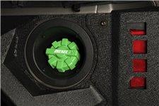 Elite Fuel Cap, Aluminum, Green : 01-18 Jeep Wrangler TJ/LJ/JK/JKU