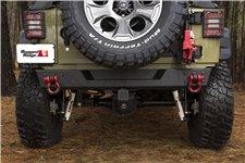 Spartan Bumper, Rear, Body Width : 07-18 Jeep Wrangler JK/JKU