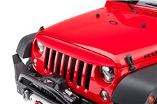 NightHawk Light Brow, Flame Red : 07-18 Jeep Wrangler JK