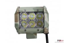 LED Bar 18W, 3 inches : E-MARK, FLOOD beam, LED Cree, 99mm